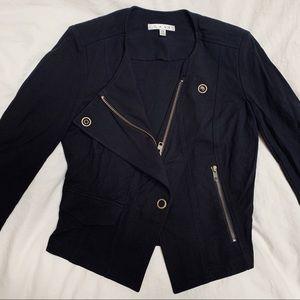 Cabi black zip up jacket